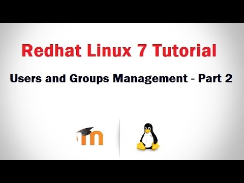 User and Group Management in RHEL 7 (Creating user's using Useradd Command) - Part 2