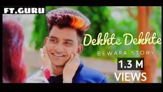 Dekhte Dekhte Song   Batti Gul Meter Chalu   ATIF ASLAM   Guru   Sad Song   RADHE CREATION
