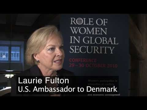 U.S. Ambassador to Denmark Laurie S. Fulton calls for inclusion of women in ensuring global security