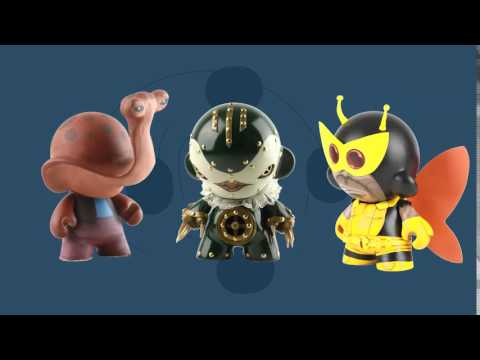 Vinyl Thoughts Art Show 6 - What is a custom vinyl art toy?