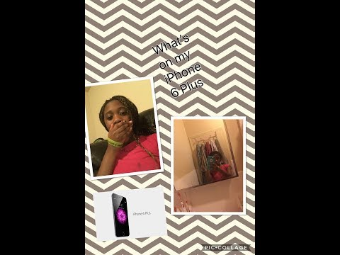 whats on my iPhone 6 Plus~beautybydelores