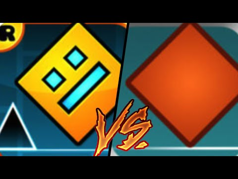 Geometry Dash VS The Impossible Game | Gameplay Review