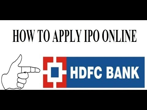 How to Apply Godrej Agrovet IPO From HDFC Net banking ASBA-  (Hindi)[ TOP RATED ]