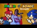 Mario Vs Sonic Live Cartoon Beatbox Battles