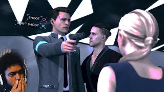 UH OH, IS CONNOR A DEVIANT NOW!? | Detroit: Become Human (Part 8)