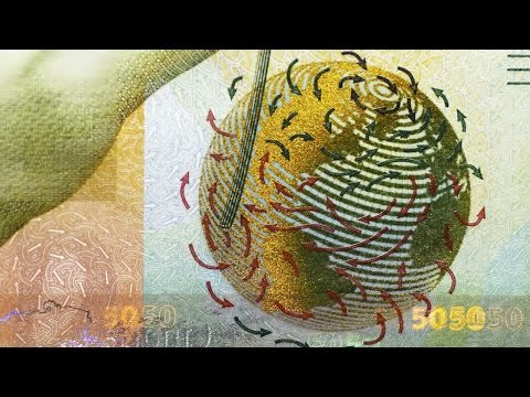 The new banknotes – security features at a glance