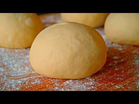 HOW TO MAKE PIZZA DOUGH - pizza dough made from scratch - video recipe - home made