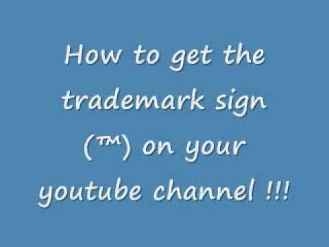 How to get the trademark symbol