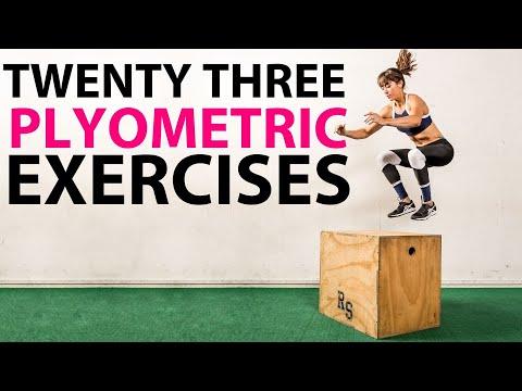 Plyometric exercises  - 23 Plyo Variations