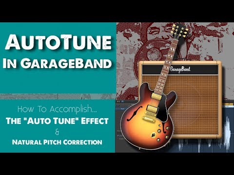 AutoTune In GarageBand! (& Natural Pitch Correction)