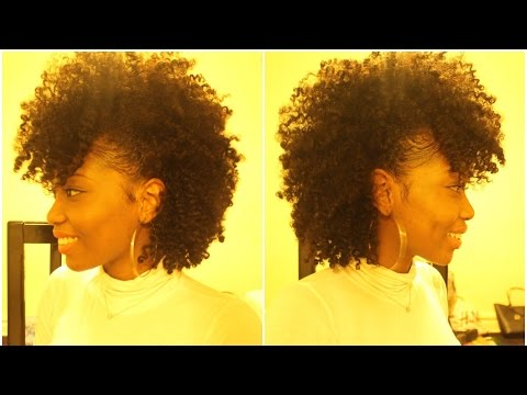 Natural Hair style | Frohawk tutorial