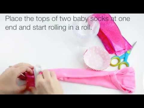 Cupcake Onesie Gift Cup Easy DIY