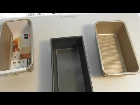 OXO Good Grips BREAD and CAKE pans REVIEW- do they work?