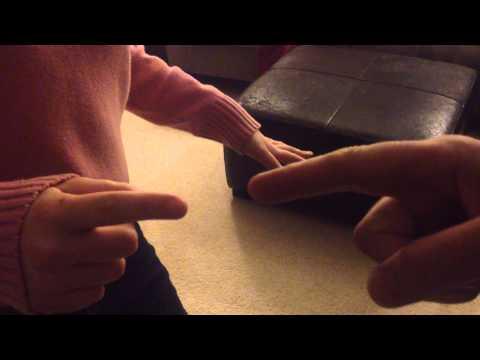 Shocking!!!  Static electricity zaps between fingertips