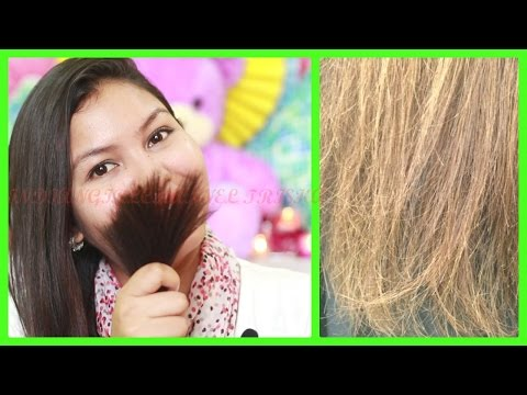 How to get rid of split ends / top 5 home remedies + easy tips for split ends