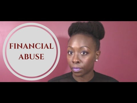Financial Abuse: Domestic Violence Awareness Month