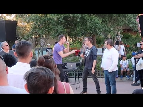 EPIC Rap Battle In Disney Springs April 2017