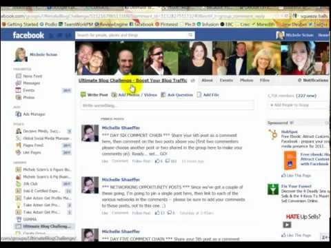 How To Share Your Blog Post on Facebook For Beginners