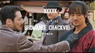   HUMOR   Eugene/Dong-Mae/Hui-Seong • Bromance Crackvid [Funny Moments - Mr. Sunshine]