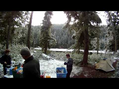 Camping at Crawfish Lake, Oregon with the Scouts (Near Cottage Grove, Oregon)