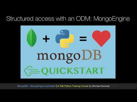 MongoDB and Python Quickstart (1/21): How ODMs work