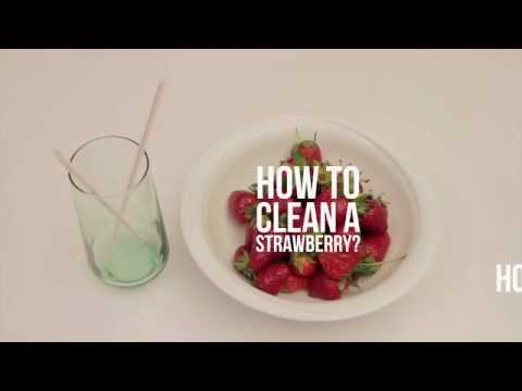 How To Clean A Strawberry I DIY