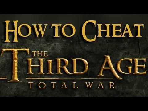 HOW TO CHEAT properly in THIRD AGE total war (adding units, adding population,...)