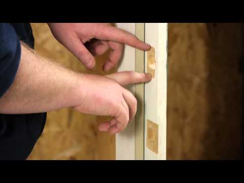 Standard Door Handle Hole vs. Standard Deadbolt Hole : Door Installation & Repairs