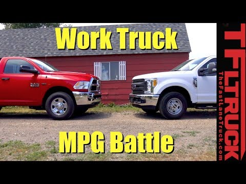Ford F250 vs Ram 2500: Which HD Work Truck Is The MPG Champ?