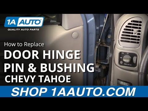How To Install Replace Door Hinge Pin Chevy GMC Pickup Truck SUV. BUY AUTO PARTS AT 1AAUTO.COM