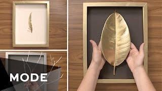 3 DIY Wall Art Ideas   Glam It Yourself ★ Glam.com