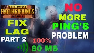 How to reduce ping in pubg mobile or emulator || ping 50 ms from