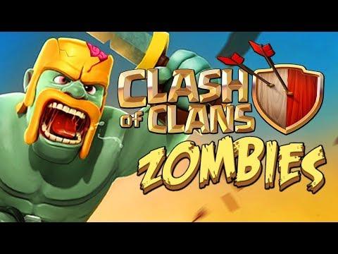 Wah Lucu Nih, Seperti Main COC Mod Zombie - CLASH OF ZOMBIE 2
