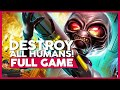 Destroy All Humans 1 (Original Game) | Full Gameplay/Playthrough | No Commentary [PC,PS2,PS3,X360]