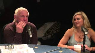 Ric And Charlotte Flair Talk about The Drama Of Working Together Everyday