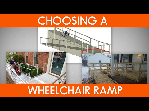 What You Need to Know before Choosing a Wheelchair Ramp