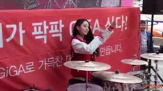 """비밥 아연(BEBOP A-YEON) Hongik Univ. M&S, KT GIGA """"Arirang"""""""