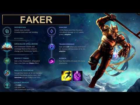 SKT Faker Build Nasus - New Runes Season 8 solo vs Jarvan IV (League of Legends Guide)