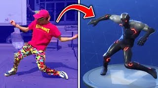 Top 10 Fortnite Dances IN REAL LIFE! (Fortnite Battle Royale Season 4)