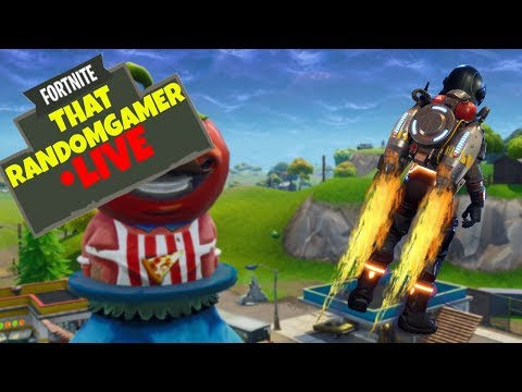 JETPACK, 50v50, AND SOLID GOLD! - FORTNITE - ThatRandomGamer - PLAYING WITH VIEWERS!!! **LIVE**