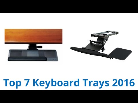 7 Best Keyboard Trays 2016