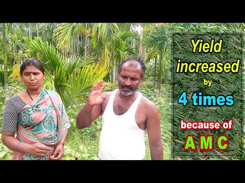AMC is a promising technology for doubling farmers income with subtitles final