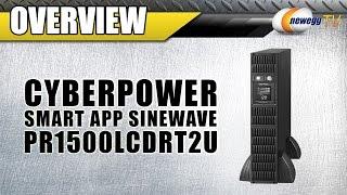 CyberPower Smart App Sinewave UPS Overview - Newegg TV