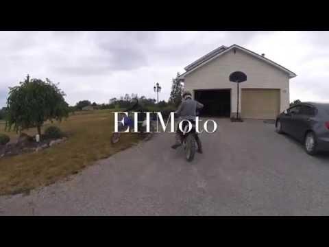 Sick backyard dirtbike track  S1E3  dirt biking