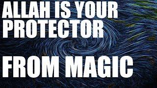 Why you always blame black magic , Allah bring both good and harm.