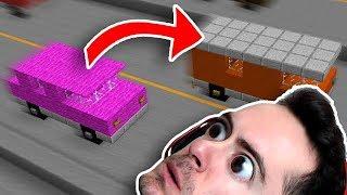 Minecraft: Moving Vehicle Parkour