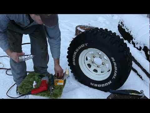 Studding Your Own Tires--Bad Idea?