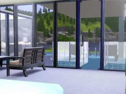 Sims 3 building a modern beach house