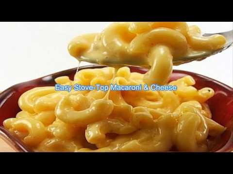 Easy Stove Top Macaroni & Cheese
