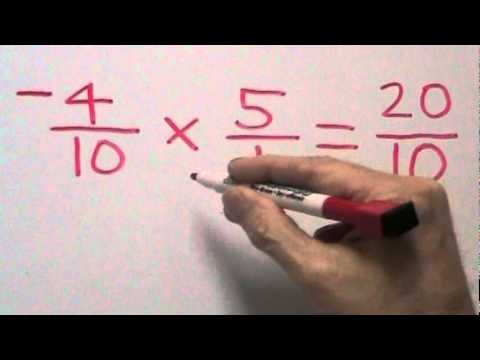 Dividing Fractions with Integers